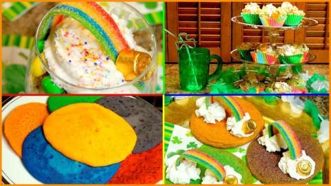 DIY St. Patrick's Day Treats & Snack Ideas!