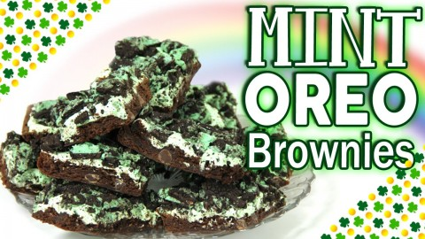 How to Make Brownies: Easy dessert for St. Patrick's Day Using Brownie Mix