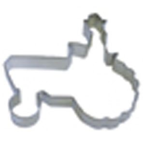 farmer on tractor cookie cutter