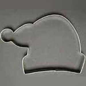 santa hat cookie cutter