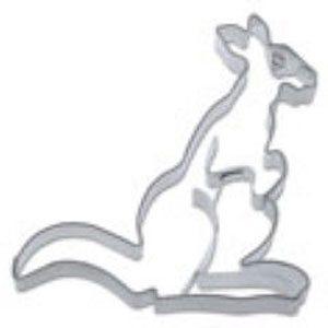 Cookie Cutter Kangaroo Mini Stainless Steel