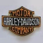 harley davidson cookie