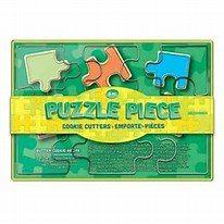 puzzle piece cookie cutter set