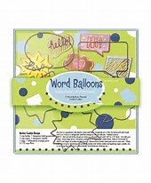 word balloon cookie cutters