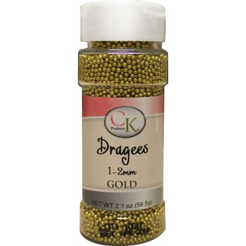 gold dragees