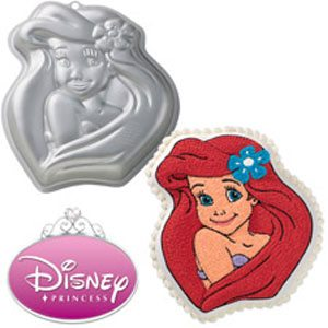 little mermaid cake mold