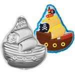 pirate ship cake mold