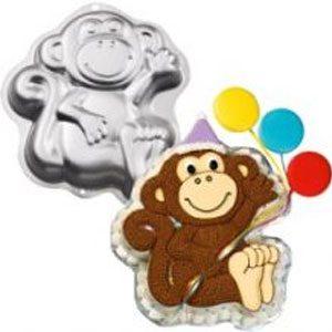 monkey cake mold