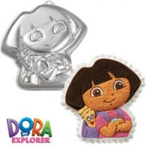 dora the explorer cake mold