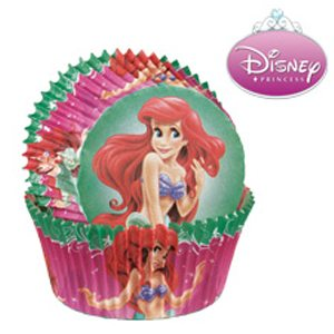 little mermaid cupcake paper