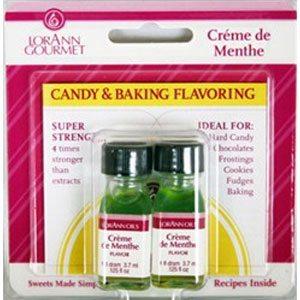creme de menthe baking flavoring