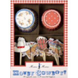 cowboy cupcake papers