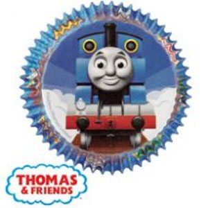 thomas the train cupcake paper