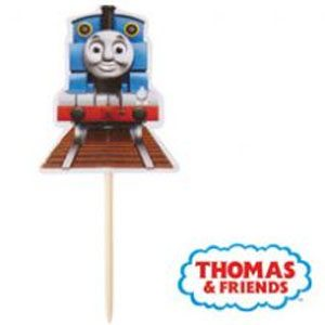 thomas train cupcake topper