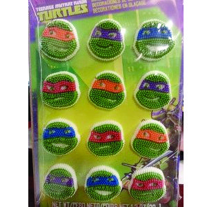 ninja turtle candy decorations
