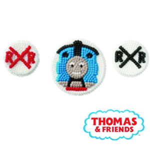 thomas candy cupcake decorations