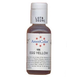 egg yellow food coloring
