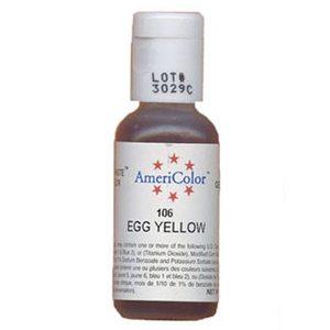 egg yellow food coloring