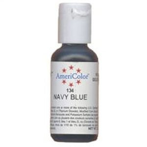 navy blue food coloring