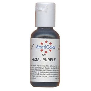 regal purple food coloring