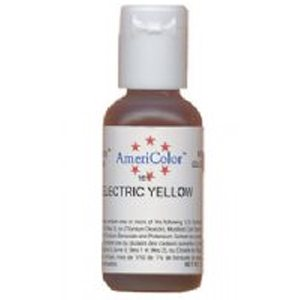 electric yellow food coloring
