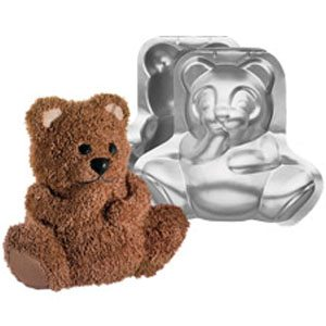 teddy bear cake mold