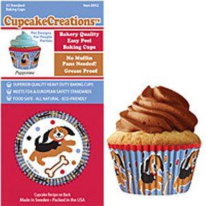 dog cupcake cups