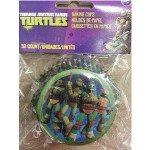 ninja turtles cupcake paper