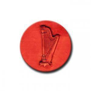 harp cookie stamps
