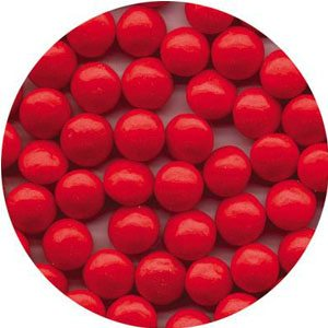 red candy pearls
