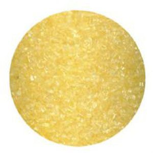 yellow baking glitter
