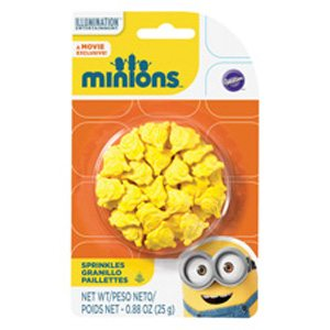 minion sprinkles