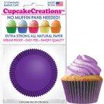 purple cupcake cups