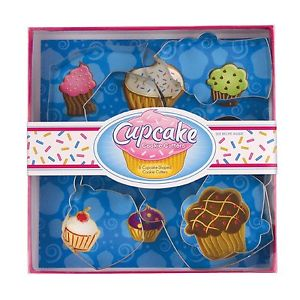 cupcake cookie stamp set