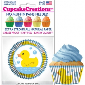 duck cupcake cups