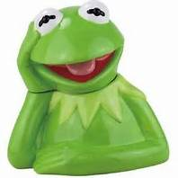kermit cookie jar