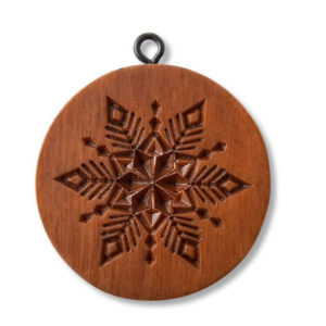 snowflake cookie stamp