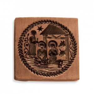 nativity scene cookie stamp