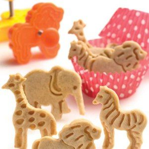 Animal Shapes Cookie Cutters