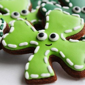 St Patrick's Day Cookie Cutters