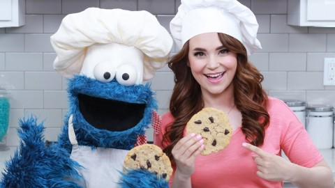 CHOCOLATE CHIP COOKIES w/ COOKIE MONSTER! – NERDY NUMMIES