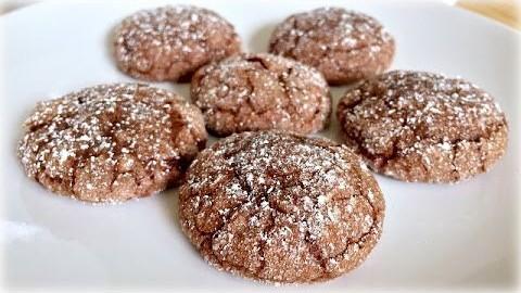 Chocolate Sparkle Cookies – Flourless Chocolate Cookie Recipe