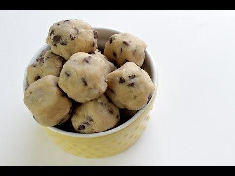 How To Make Cookie Dough Bites   No Bake Recipe   Simply Bakings