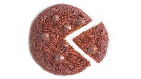 Brownie Cookie in Mug – 2-Minute Microwave Cookie Recipe 전자렌지 브라우니 쿠키 만들기 – 한글자막