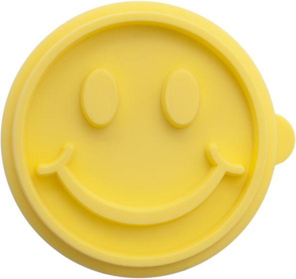smiley face cookie stamp