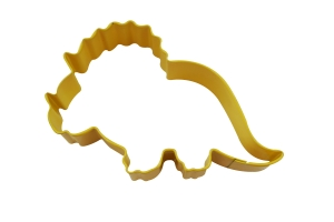 triceratop cookie cutter