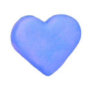blue heart sapphire dust