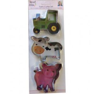 farm cookie cutter set