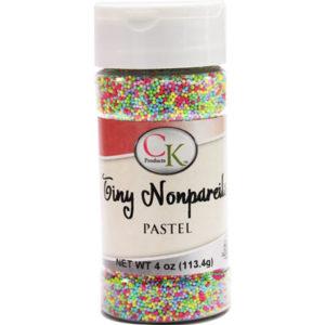 tiny nonpareils pastel