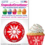 snowflake baking cup